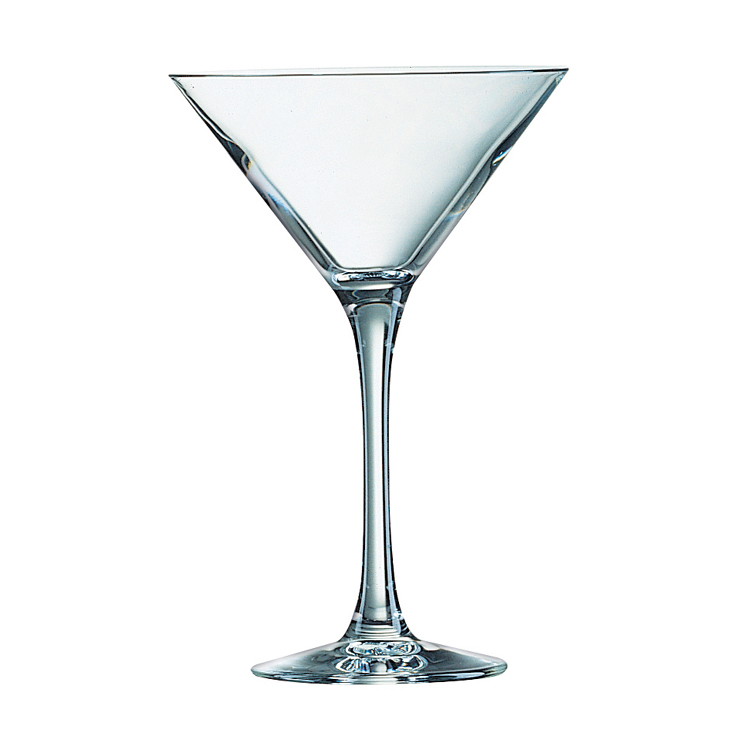 Chef and Sommelier Excalibur Martini / Fully Toughened Cocktail Glass 21cl / Cocktail Glasses