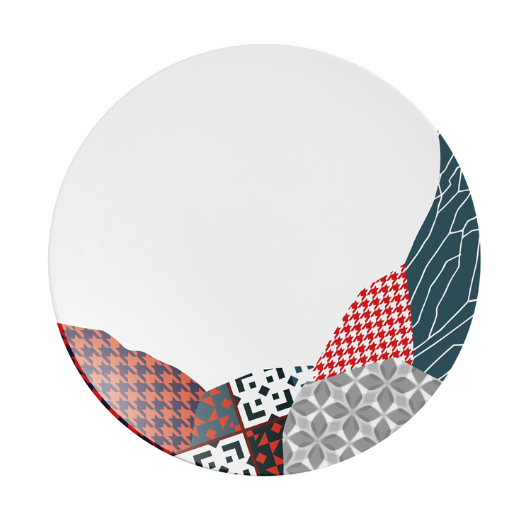 Fragment Carmin / Red / Arcoroc Dinnerware