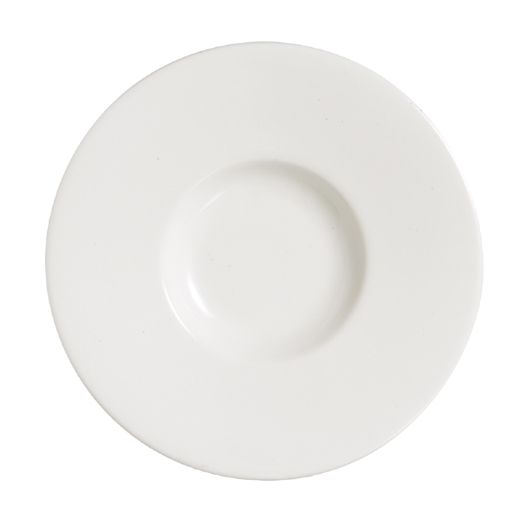 Grands Chef Moon Large Flat Plate / Arcoroc Dinnerware