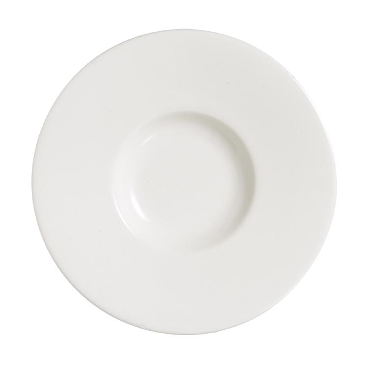 Grands Chef Moon Large Flat Plate / Arcoroc Dinnerware