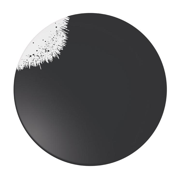Holi Carbone Black Plate 160 / Arcoroc Dinnerware