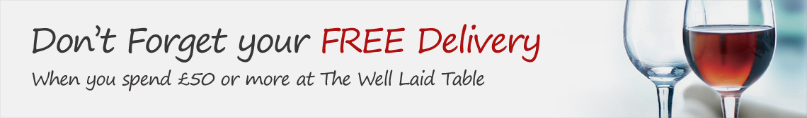 Free Delivery when your spend £50 or more
